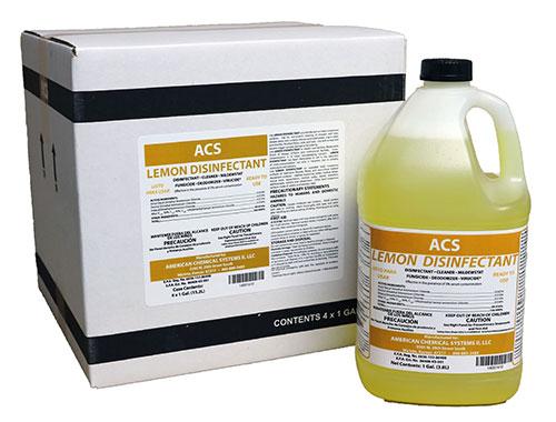 Lemon-Disinfectant